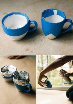 Gold DIY mug