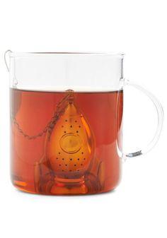 Rocket tea infuser.