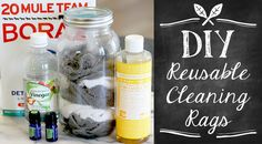 Reusable Cleaning Rags