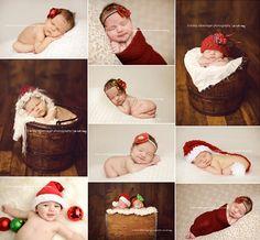 Christmas baby photo ideas