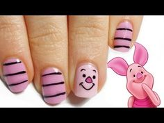 Pimpi Piglet Nails tutorial