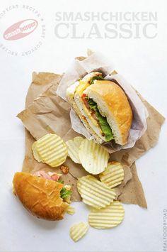 SmashChicken Classic Sandwich
