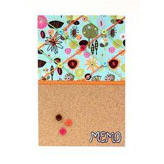 Cork Foam Board Memo Board - Easy, fun project!