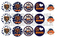 Hey, I found this really awesome Etsy listing at http://www.etsy.com/listing/161161851/chicago-bears-bottle-cap-images