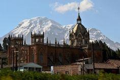 Hermosa fotografía del nevado  Chimborazo en Ecuador...el más alto del Ecuador.