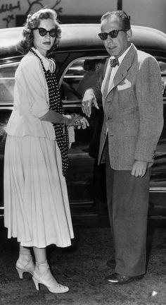 Humphrey Bogart & Lauren Bacall, 1944