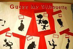 Guess My Silhouette Bulletin Board