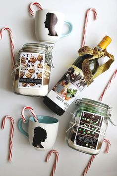 Three last-minute holiday gift ideas! jar recipes, holiday ideas, jar gifts, gift ideas, homemade gifts, holidays, diy gifts, holiday gifts, last minute gifts