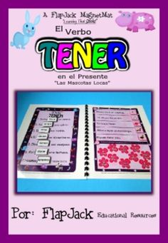 Various activities for practicing tener