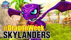 Skylanders DRAGON WEEK Cynder #skylanders #toys #collecting #dragonweek