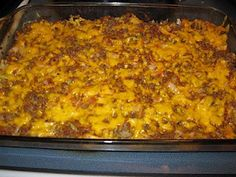 Luscious Low Carb: Comforting Ground Beef and Cabbage Casserole