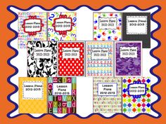 Time 4 Organization: Cover Up- Your Plan Book