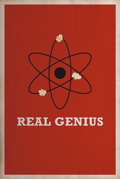 real genius - love the nod to the popcorn