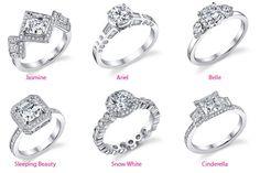 Disney Princess Wedding Rings!