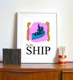 Monopoly game piece, the ship, art