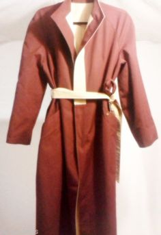 Vintage Etienne Aigner Reversible Coat Burgundy  Beige, Size 14P #EtienneAigner #BasicCoat