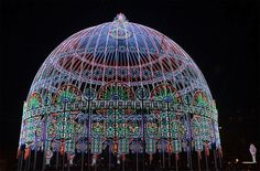 30,000 LED Lights Illuminate the Cupola in Eindhoven