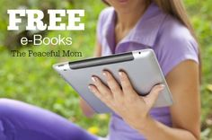 Free Kindle Books available today! - The Peaceful Mom