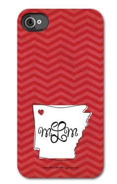 Personalized Arkansas iPhone Case