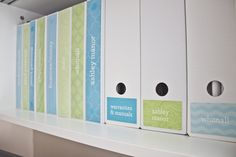 So many organization ideas! One day I will be using these in my home.