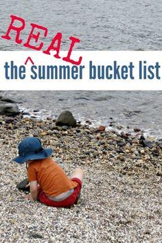 Summer bucket list you will ACTUALLY do. So true!