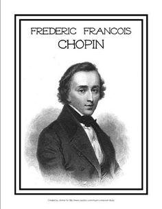 Chopin Composer Study