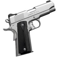 Kimber 1911 Stainless Pro TLE II - Light weight blends with a shorter barrel for easy carry.