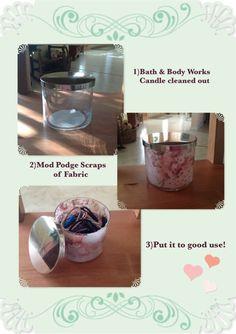 Bath  Body Works Candle Jar