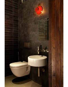 wc on pinterest purple bathrooms toilets and small spaces. Black Bedroom Furniture Sets. Home Design Ideas
