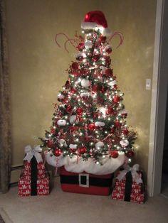 Sew Many Ways...: Santa Claus Tree...