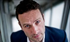 andrew lincoln (and he's british!) The Walking Dead
