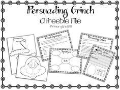 Primary Graffiti: Grinning Grinch {Persuasive Freebie}