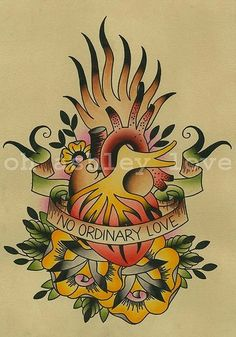 No Ordinary Love - painting by @ohashleylove