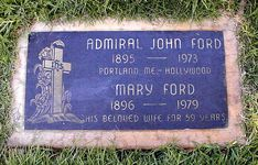 """John Ford (1895 - 1973) Director, """"How Green Was My Valley"""", """"The Quiet Man"""", """"The Searchers"""", he won six Oscars, including two for World War II documentaries"""