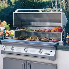 May is National BBQ Month - This is one of our favorite grills! Solaire Built-In Grill