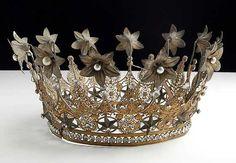 french crown, balls, folk art, princess crowns, mercury glass, princesses, french antiques, tv shows, tiaras