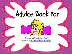 This freebie is a Mother's Day Book you can have your students complete as a gift for Mom. It is a book of advice to moms from their child. (Grades K-6)