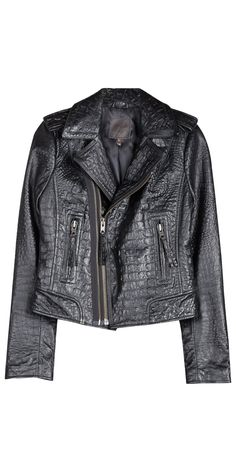 Ailey Leather Jacket - Outerwear - Joie