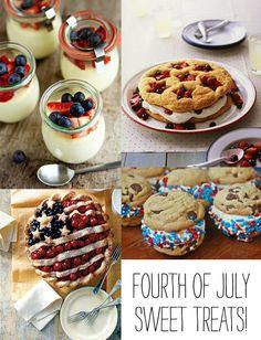 Fun dessert ideas for July 4th!