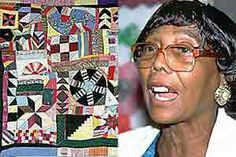 Nora Ezell (90) winner of a National Endowment of the Arts award for her quilts honoring the life of Rev. Martin Luther King Jr., the civil rights era in Alabama, and the saga of the American Indian, among others. Ezell's quilts were bold statements of creative freedom. A self-taught artist, she used mixed media and vibrant colors, often working without patterns.  Nora Ezell, died Sept. 6, 2007, at age 88, in Tuscaloosa, Ala.