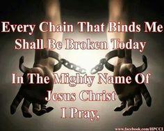 In the name of JESUS!