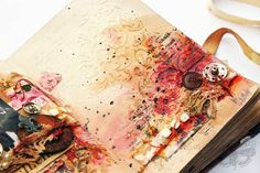 Finnabair: Art Recipe - H&E - a bit emotional Journal Page