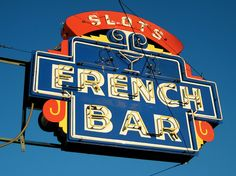 French Bar, Gardnerville, NV by Robby Virus, via Flickr