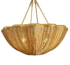 Very cool rattan ceiling light from Dering Hall...a little retro and a little boho!