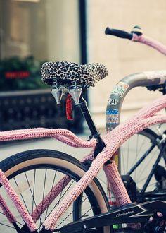 Crochet Bike Cozy