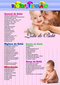 lista enxoval do beb