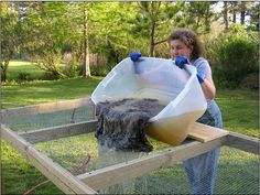 Ten Good Sheep Wool Fleece Washing Tutorial