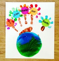 Earth Day Preschool Activities and Kindergarten Earth Day Lessons, Crafts and Printables