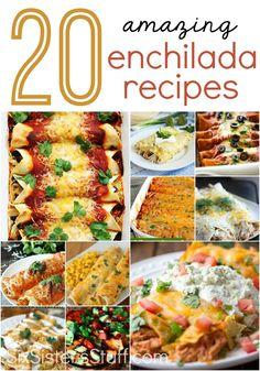 20 AMAZING Enchilada