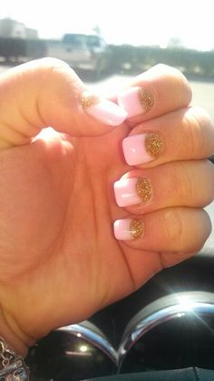 Reverse french tip